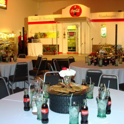 auto museum catered event