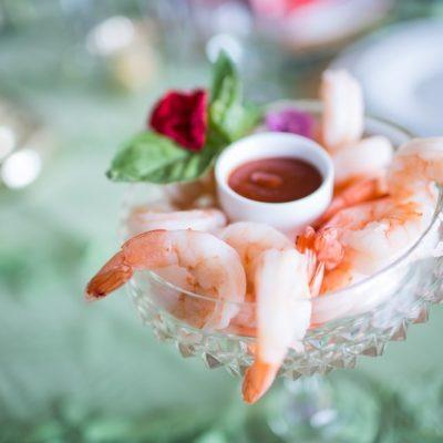 shrimp platter appetizer