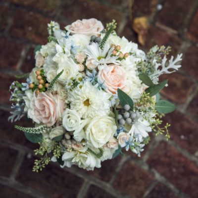 elaborate wedding bouquet